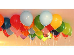 Helium Balloons Online Bangalore Delivery Order